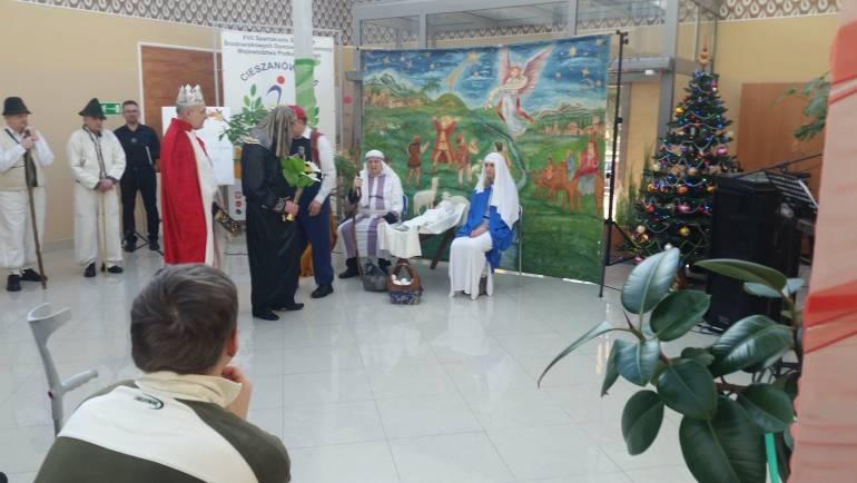 Wyjazd do ŚDS w Cieszanowie z Jasełkami